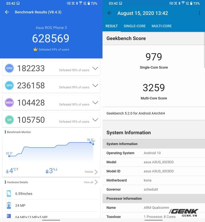 Trên tay quái vật gaming ROG Phone 3: Snapdragon 865+, màn hình 144Hz, pin 6000mAh, giá từ 14.5 triệu đồng - Ảnh 22.