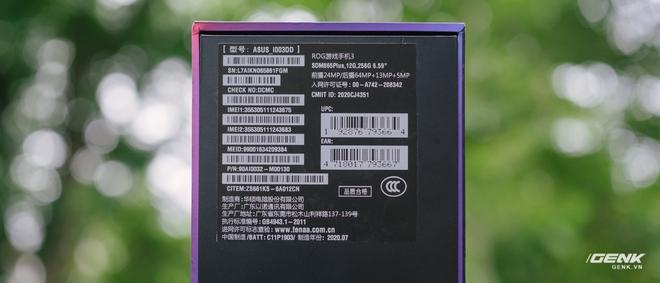 Trên tay quái vật gaming ROG Phone 3: Snapdragon 865+, màn hình 144Hz, pin 6000mAh, giá từ 14.5 triệu đồng - Ảnh 3.