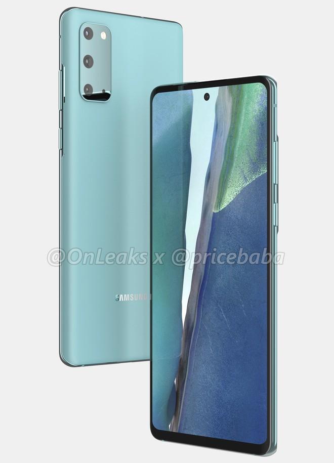 Galaxy S20 FE lộ ảnh render: Vỏ nhựa, chip Snapdragon 865, giá 17.5 triệu đồng - Ảnh 2.