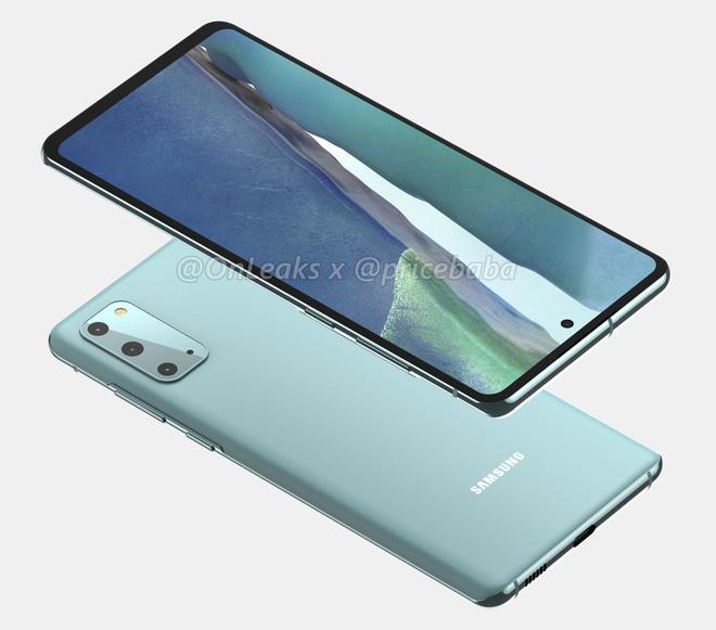 Galaxy S20 FE lộ ảnh render: Vỏ nhựa, chip Snapdragon 865, giá 17.5 triệu đồng - Ảnh 3.