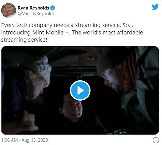 Ryan Reynolds vừa ra mắt nền tảng streaming mới, nhưng chỉ phát sóng duy nhất 1 bộ phim cũ rích của mình - Ảnh 2.