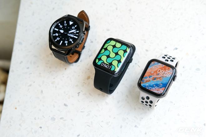 So sánh Galaxy Watch3, OPPO Watch và Apple Watch Series 5, bạn chọn smartwatch nào? - Ảnh 1.