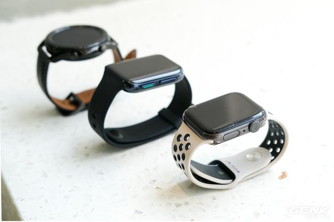 So sánh Galaxy Watch3, OPPO Watch và Apple Watch Series 5, bạn chọn smartwatch nào? - Ảnh 2.