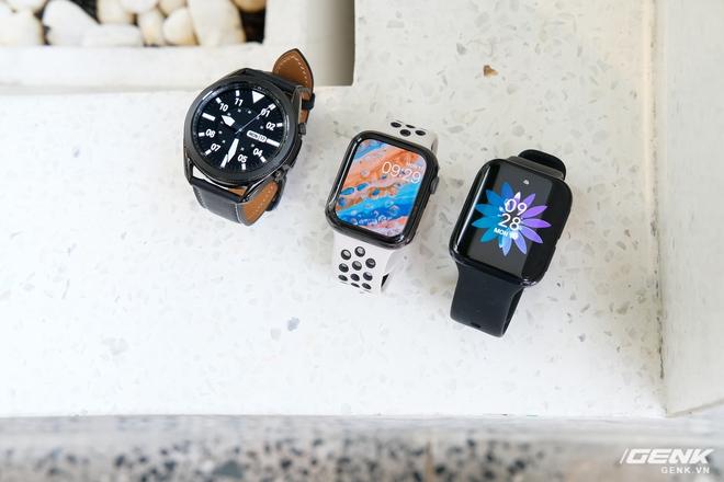 So sánh Galaxy Watch3, OPPO Watch và Apple Watch Series 5, bạn chọn smartwatch nào? - Ảnh 21.