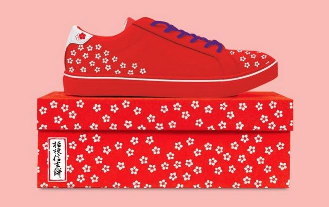 Nhà thiết kế người Nhật tạo ra những đôi giày thể thao lấy cảm hứng từ những biểu tượng quen thuộc của Nhật Bản - Ảnh 4.