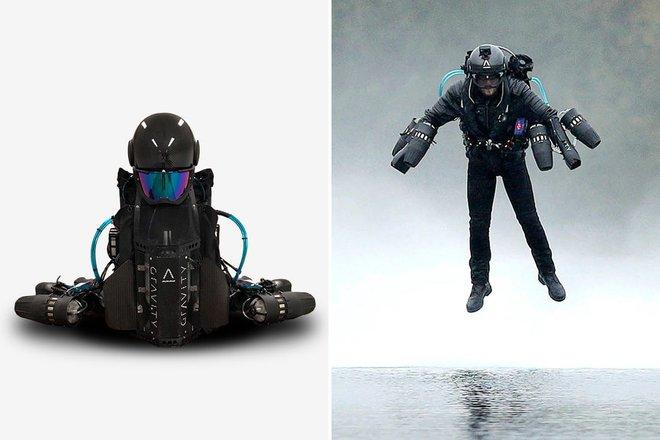 Lộ video thử nghiệm bộ đồ bay phản lực giống Iron Man giá 10 tỷ đồng, ai xem xong cũng muốn được thử bay một lần - Ảnh 3.