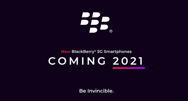 BlackBerry hồi sinh, tuyên bố ra mắt smartphone 5G với bàn phím QWERTY vật lý trong năm 2021 - Ảnh 1.