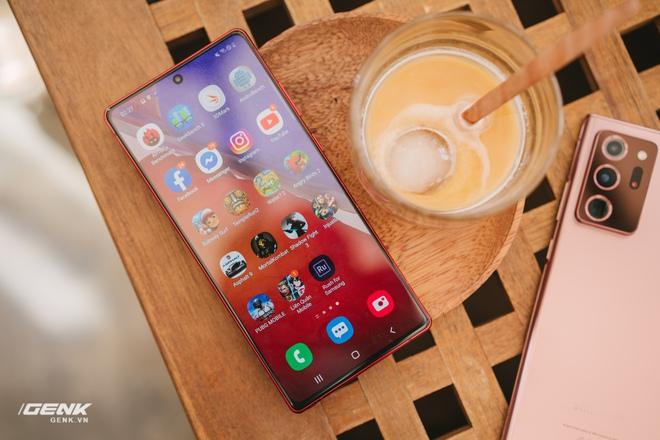 Ngắm Samsung Galaxy Note20 Mystic Red bản Hàn Quốc, chạy vi xử lý Snapdragon 865+ - Ảnh 8.