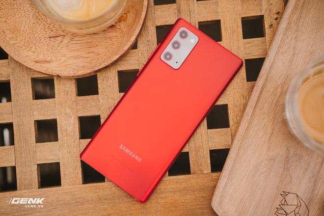 Ngắm Samsung Galaxy Note20 Mystic Red bản Hàn Quốc, chạy vi xử lý Snapdragon 865+ - Ảnh 3.