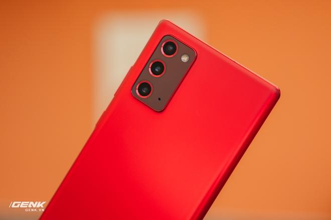 Ngắm Samsung Galaxy Note20 Mystic Red bản Hàn Quốc, chạy vi xử lý Snapdragon 865+ - Ảnh 4.