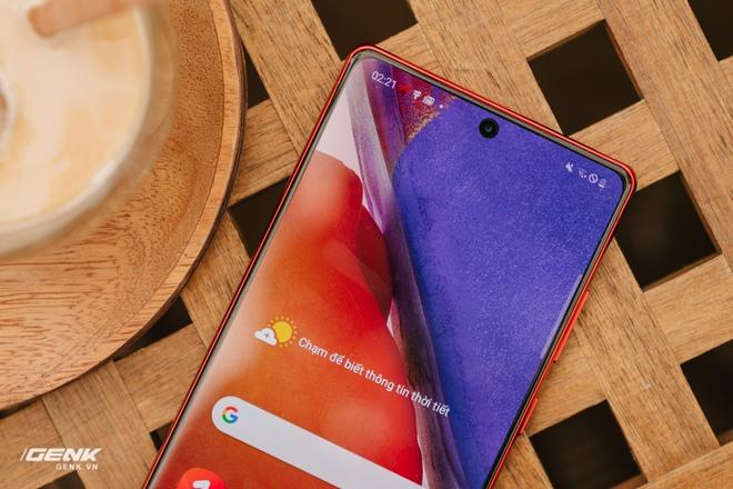 Ngắm Samsung Galaxy Note20 Mystic Red bản Hàn Quốc, chạy vi xử lý Snapdragon 865+ - Ảnh 9.