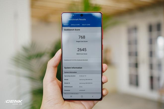 Ngắm Samsung Galaxy Note20 Mystic Red bản Hàn Quốc, chạy vi xử lý Snapdragon 865+ - Ảnh 11.