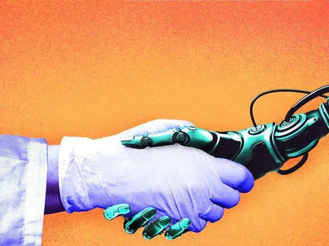 Khi đại dịch qua đi các robot nên ở lại: COVID-19 đang là cơ hội giúp hệ thống y tế đổi mới sáng tạo - Ảnh 1.