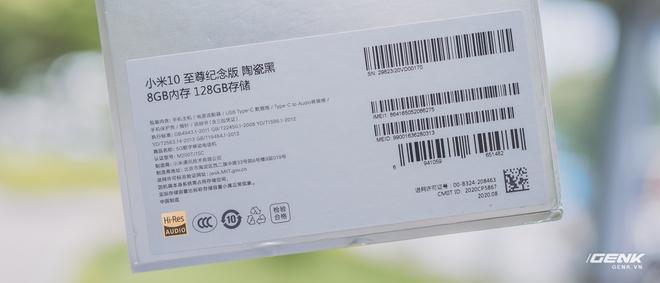 Trên tay Xiaomi Mi 10 Ultra: Camera zoom 120X, sạc 120W nhanh nhất thế giới, giá gần 20 triệu đồng - Ảnh 2.