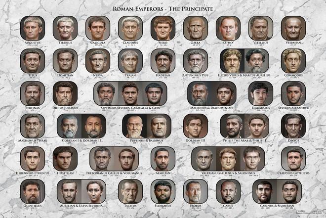 Anh designer sử dụng AI để tái tạo và phục chế hình ảnh các vị hoàng đế La Mã cổ đại 1 cách siêu chân thực - Ảnh 1.