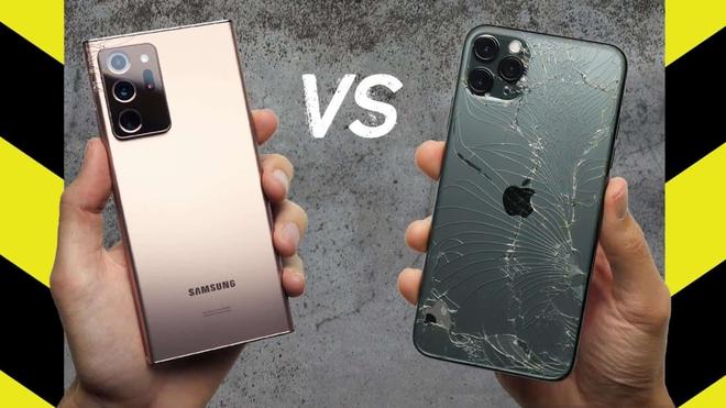 Thử nghiệm thả rơi Galaxy Note20 Ultra để xem kính cường lực Gorilla Glass Victus có thực sự ấn tượng như lời đồn? - Ảnh 2.