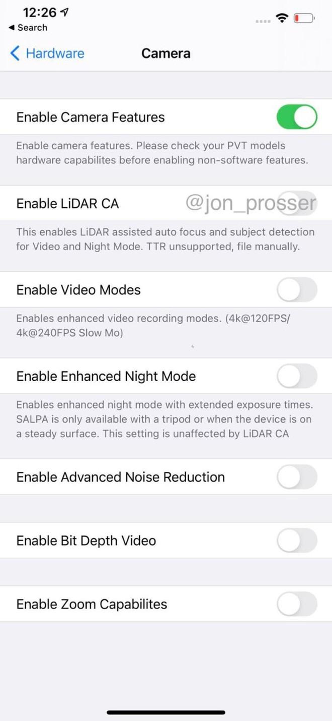 iPhone 12 Pro Max lộ video trên tay: Màn hình tần số quét cao, cảm biến LiDAR, quay 4K 240fps, tai thỏ giữ nguyên - Ảnh 1.