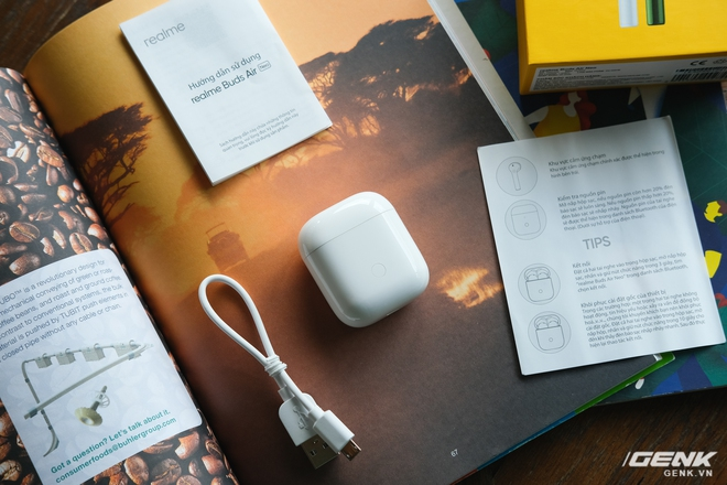 Trên tay tai nghe không dây Realme Buds Air Neo: Thoạt nhìn tưởng AirPods, có điều giá chưa đến 2 triệu đồng - Ảnh 3.