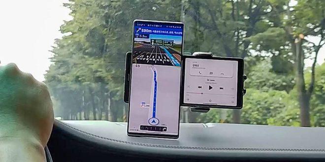 Smartphone có màn hình xoay độc đáo của LG lộ diện trong video thực tế - Ảnh 1.