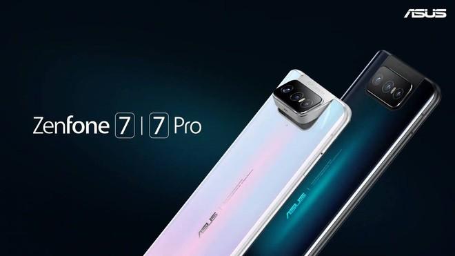 Zenfone 7 và Zenfone 7 Pro ra mắt: Màn hình 90Hz, Snapdragon 865/865+, 3 camera lật, giá từ 17.4 triệu đồng - Ảnh 1.