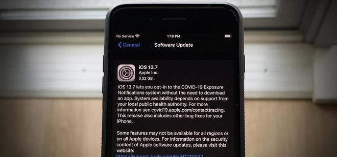 Apple phát hành iOS 13.7 Beta: Phát hiện phơi nhiễm COVID-19 không cần tải ứng dụng bên thứ ba - Ảnh 1.