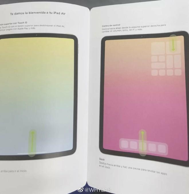 iPad Air 4 lộ diện: Thiết kế giống iPad Pro, Touch ID tích hợp phím nguồn, camera đơn - Ảnh 2.