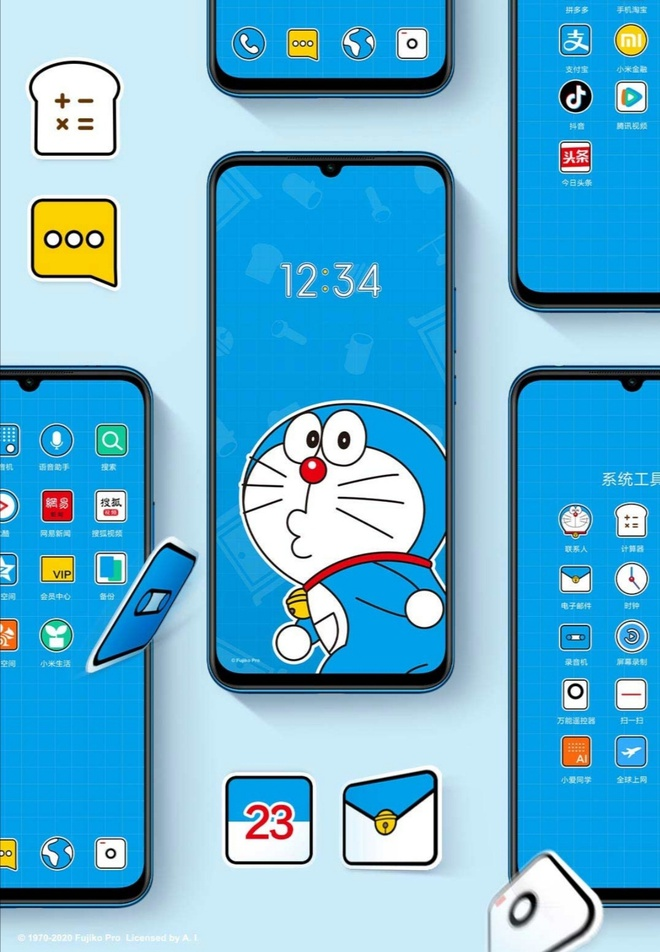 Xiaomi ra mắt smartphone kỷ niệm 50 năm Doraemon - Ảnh 3.