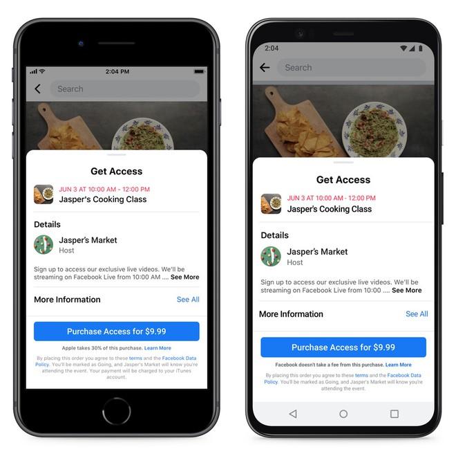 Facebook vừa định thông báo với người dùng về mức hoa hồng 30% trên App Store thì đã bị Apple bịt miệng - Ảnh 2.