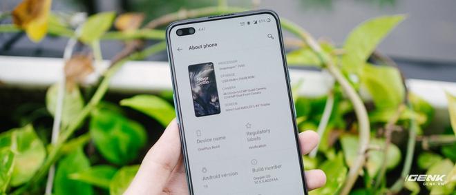 Trên tay OnePlus Nord 5G chính hãng: Snapdragon 765G, màn hình 90Hz, giá 14 triệu - Ảnh 13.