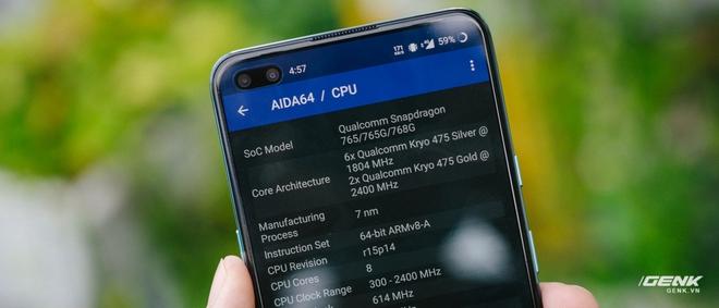 Trên tay OnePlus Nord 5G chính hãng: Snapdragon 765G, màn hình 90Hz, giá 14 triệu - Ảnh 12.