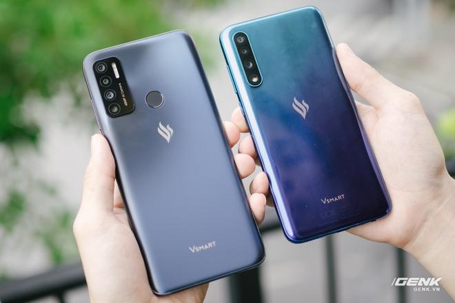 So sánh Vsmart Live 4 và Vsmart Live: Smartphone Make in Vietnam 100% có gì hơn? - Ảnh 1.