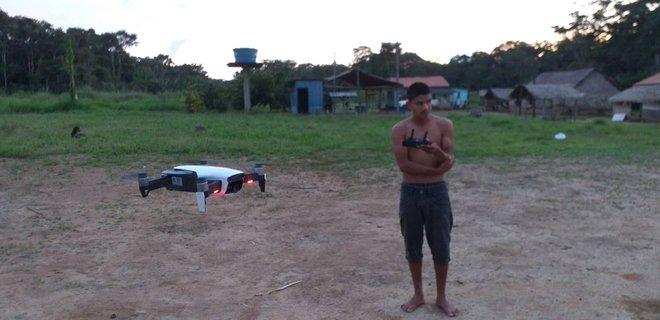 Thổ dân vùng Amazon đang bảo vệ cánh rừng và loài báo bằng ... drone - Ảnh 4.