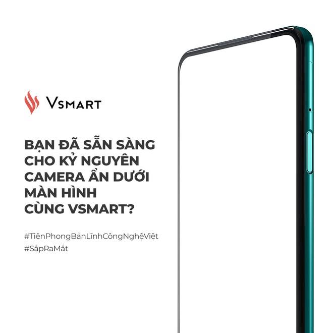 VinSmart tuyên bố có smartphone với camera ẩn dưới màn hình đầu tiên trên thế giới, liệu có vượt qua ZTE? - Ảnh 1.