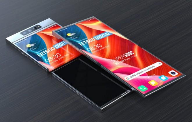 Hé lộ bằng sáng smartphone màn hình gập với cơ chế gập ra ngoài vô cùng độc đáo của Oppo - Ảnh 6.