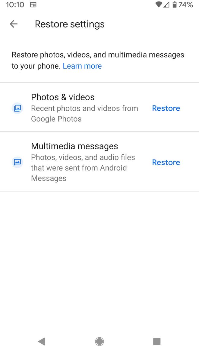 Hướng dẫn sử dụng Google One để backup smartphone Android của bạn tự động và miễn phí - Ảnh 8.