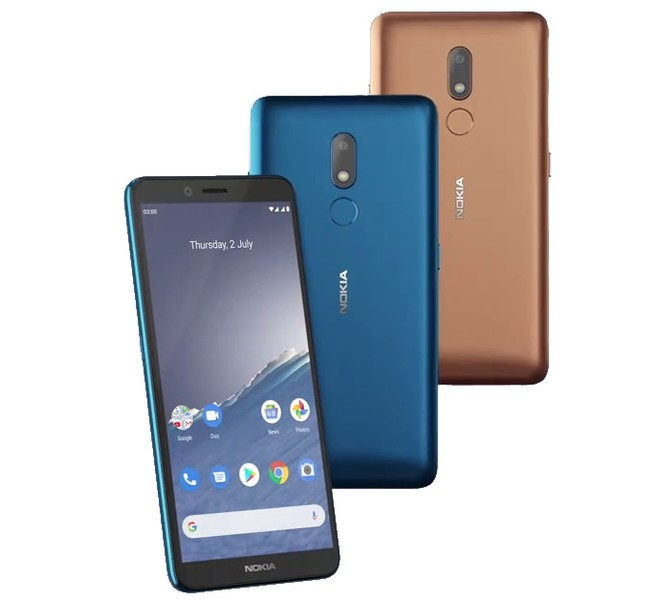 Nokia ra mắt smartphone pin có thể tháo rời, chạy Android 10, giá 2.2 triệu đồng - Ảnh 1.