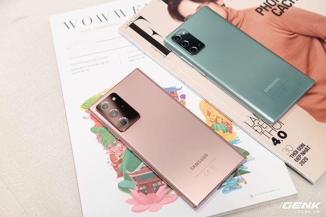 So sánh nhanh Galaxy Note 20/Note 20 Ultra với thế hệ tiền nhiệm S20 và đối thủ iPhone 11 Pro/Pro Max - Ảnh 1.