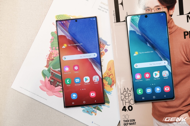 Trên tay Galaxy Note20/Note20 Ultra vừa ra mắt: Một cứng cáp, một mềm mại, màu đẹp xuất sắc, hợp cả nữ lẫn nam - Ảnh 24.