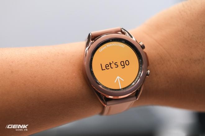 Trên tay đồng hồ Samsung Galaxy Watch 3 và tai nghe không dây chống ồn hạt đậu Galaxy Buds Live - Ảnh 4.