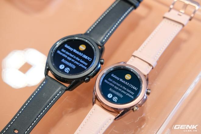 Trên tay đồng hồ Samsung Galaxy Watch 3 và tai nghe không dây chống ồn hạt đậu Galaxy Buds Live - Ảnh 1.