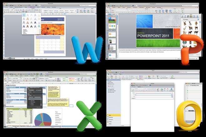Bộ Microsoft Office 2011 dành cho máy Mac