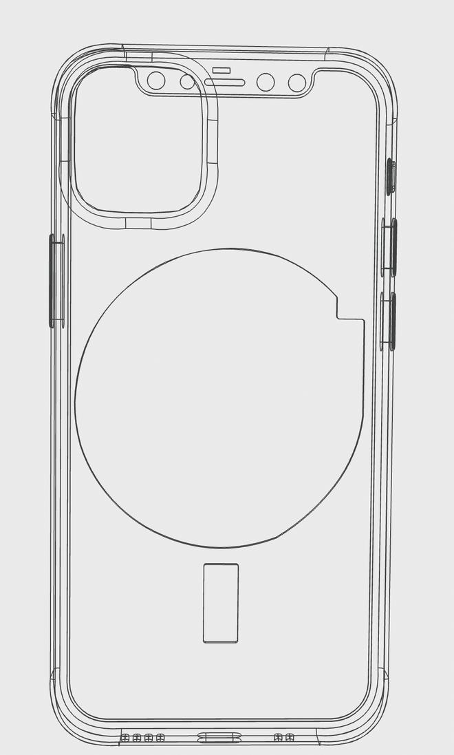 iPhone 12 sẽ tích hợp nam châm để tự căn chỉnh vị trí trên đế sạc không dây? - Ảnh 1.