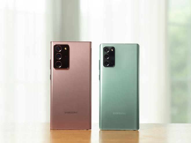 Samsung Galaxy Note20 và Note20 Ultra: Đâu là điểm khác biệt? - Ảnh 2.