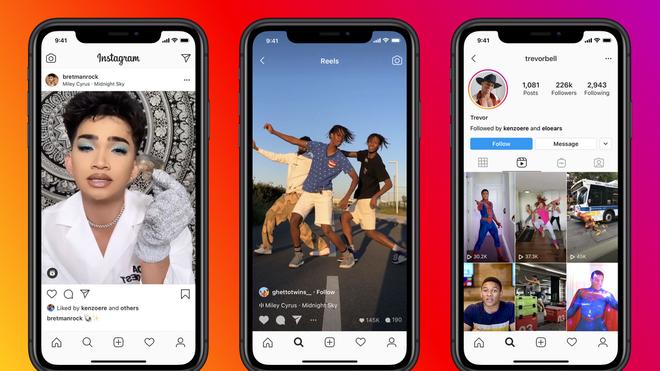 Instagram ra mắt Reels, một tính năng nhái TikTok - Ảnh 1.