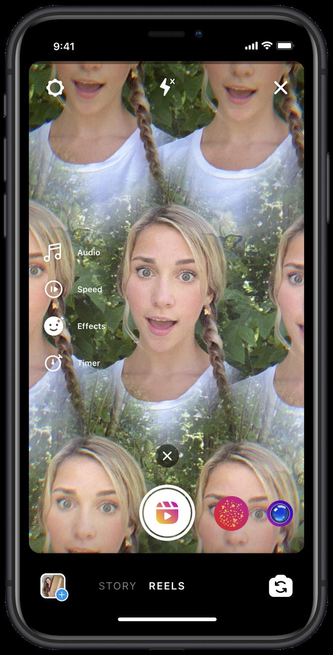 Instagram ra mắt Reels, một tính năng nhái TikTok - Ảnh 3.