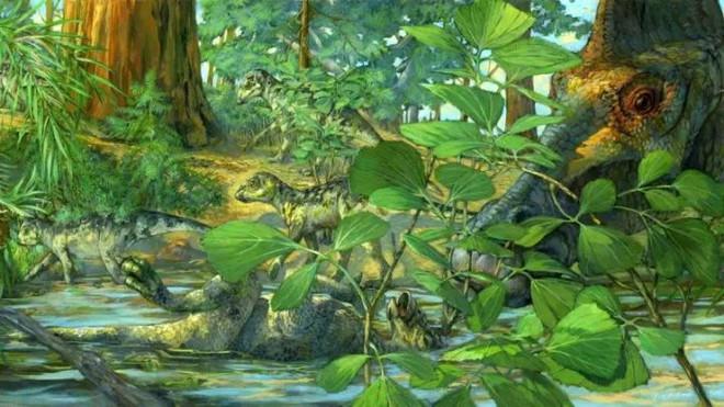 Phát hiện ra dấu vết hóa học DNA trong hóa thạch khủng long 75 triệu năm tuổi - Ảnh 2.