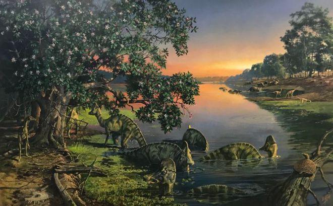 Phát hiện ra dấu vết hóa học DNA trong hóa thạch khủng long 75 triệu năm tuổi - Ảnh 1.