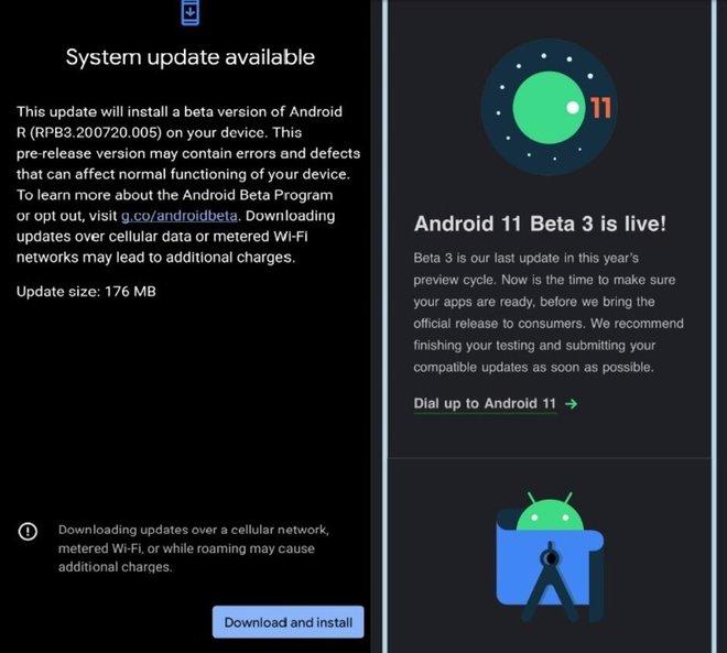Google ra mắt bản beta cuối cùng của Android 11 - Ảnh 1.