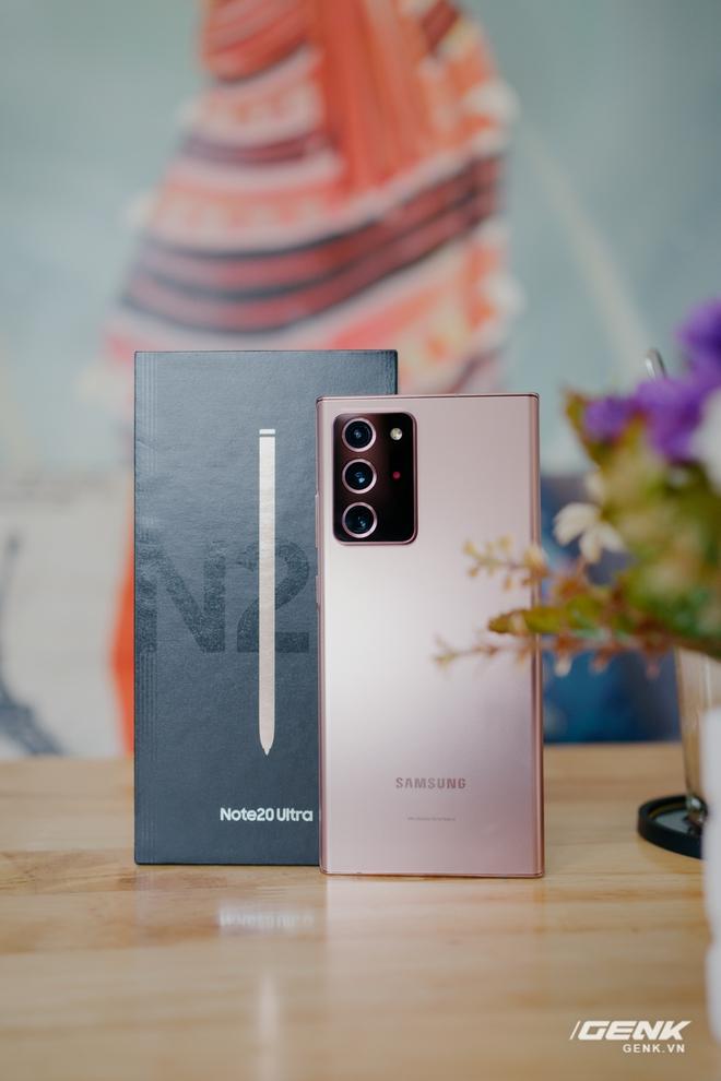 Mở hộp Galaxy Note20 Ultra chính hãng giá 30 triệu đồng - Ảnh 18.