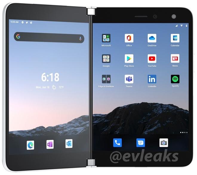Lộ thêm hình ảnh Microsoft Surface Duo, chuẩn bị sắp được ra mắt chính thức - Ảnh 6.